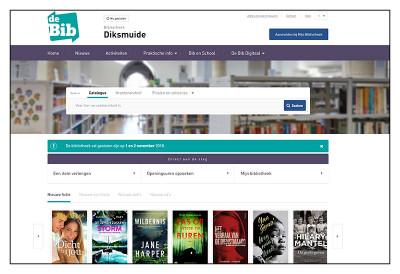 Ontdek de nieuwe bibliotheekwebsite